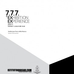 7.7.7. 2011 | EXhibition EXperience