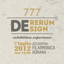 7.7.7. 2012 | DErerum Design